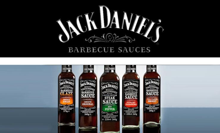 Jack Daniel's sauces