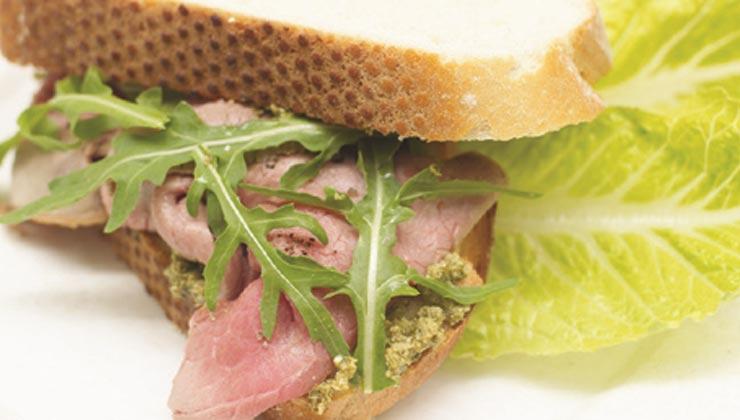 Sandwichuri cu pesto